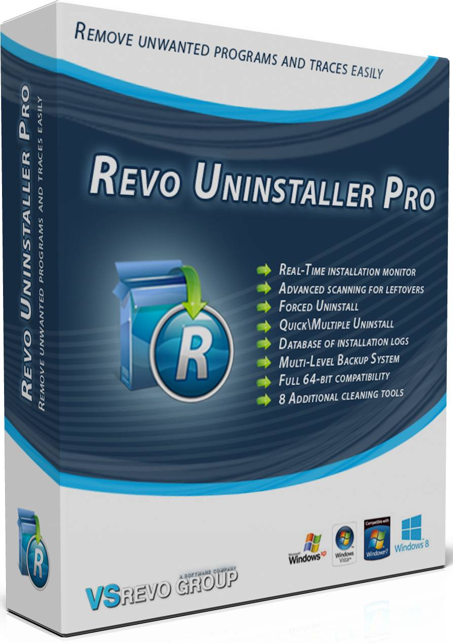 Revo Uninstaller Pro 3.1 + CRACK
